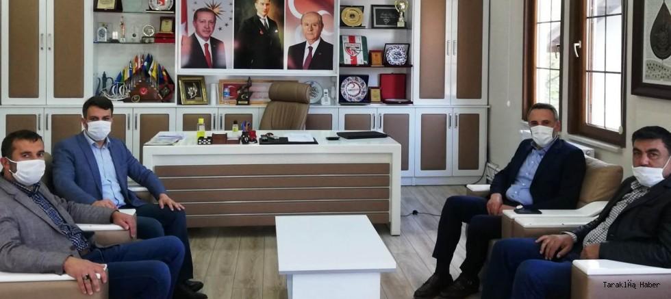 AK Parti İl Başkanı Tever'den Ziyaret
