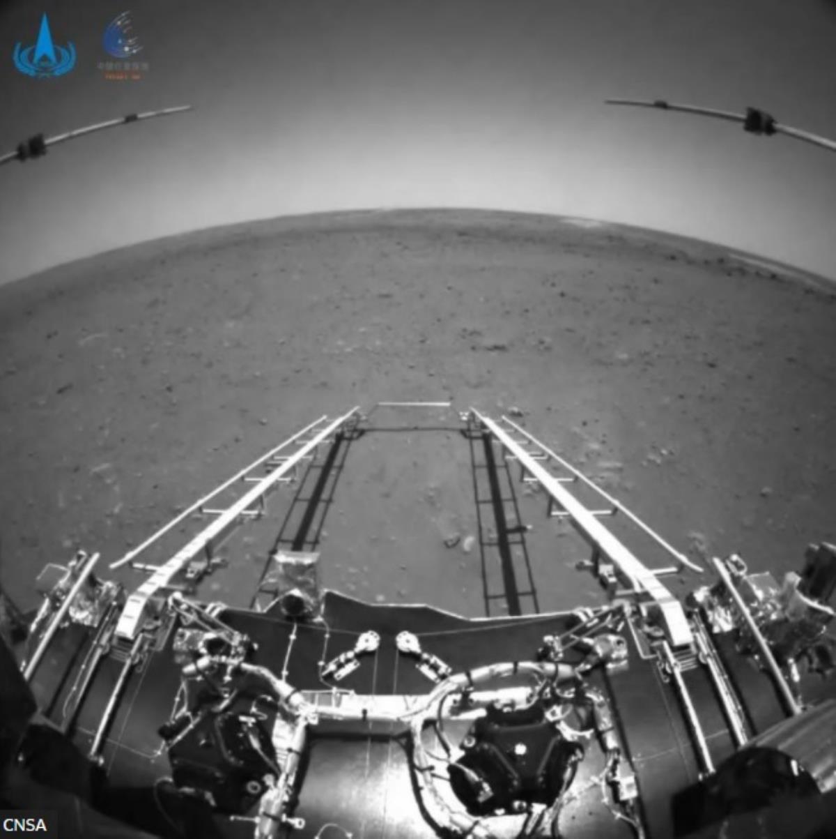 Çinliler sonunda başardı!  ABD artık Mars'ta yalnız değil