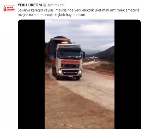 KARAGÖL YAYLASI'NDA RÜZGARDAN ELEKTRİK ÜRETİLECEK