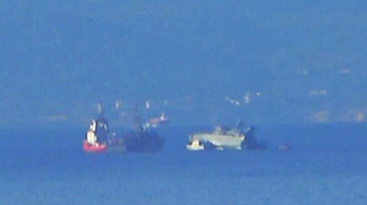 Son dakika... Yunan savaş gemisi battı!