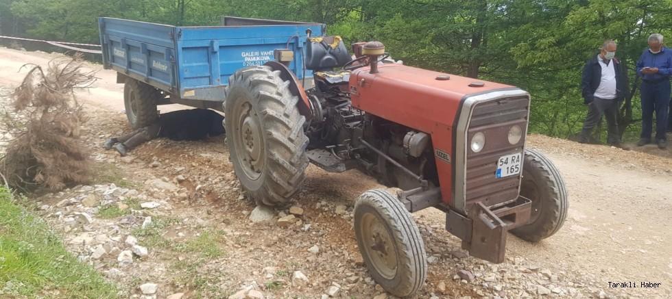 Taraklı'da meydana gelen traktör kazasında 1 kişi öldü